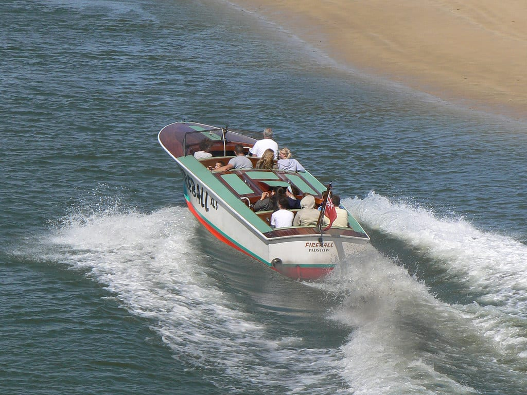passenger speed boat