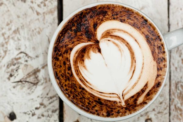 cappuccino coffee stunning pattern